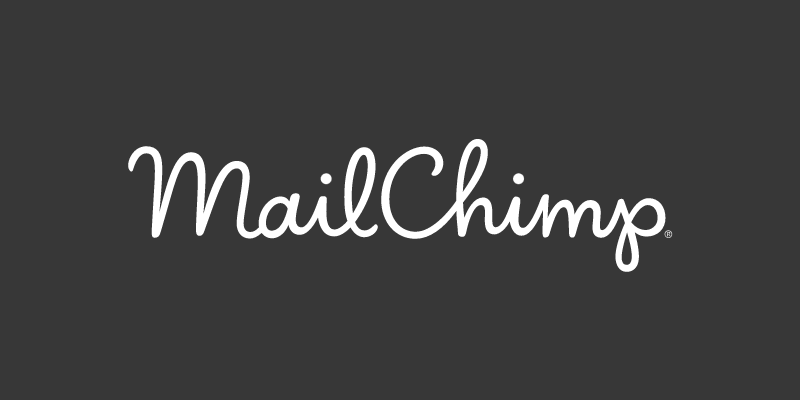 MailChimp dark vector
