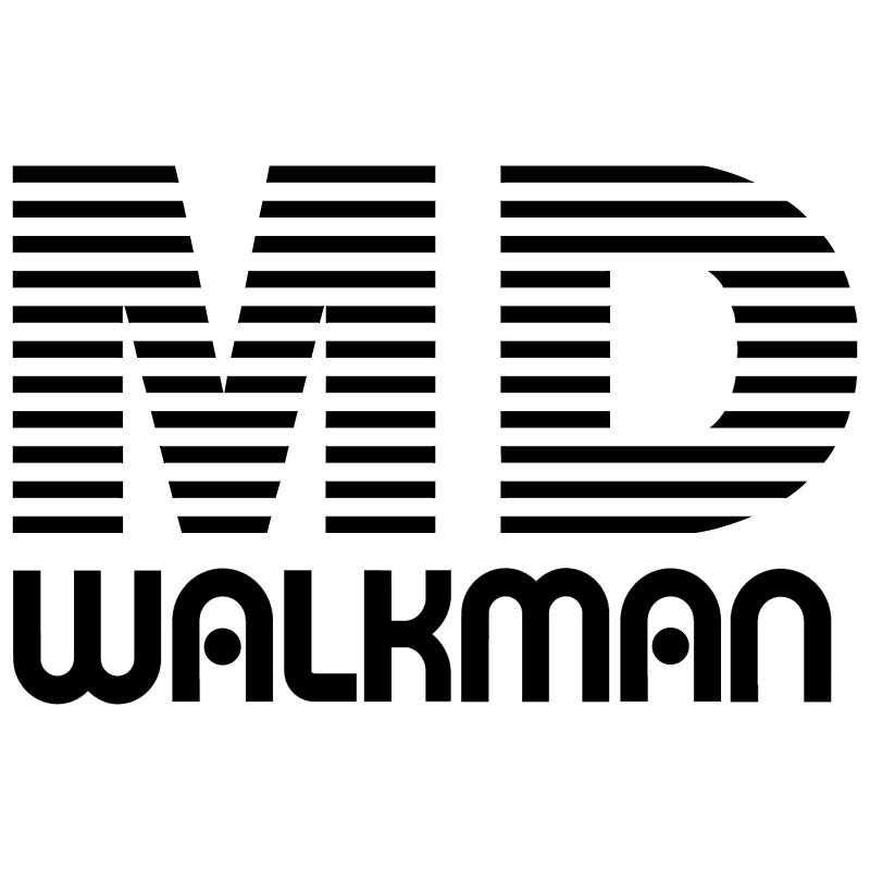 MD Walkman vector
