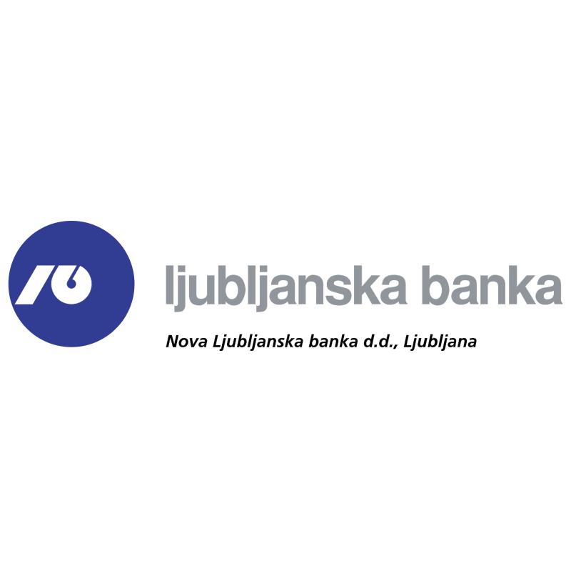 Nova Ljubljanska Banka vector