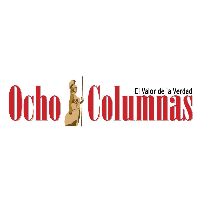 Ocho Columnas vector logo