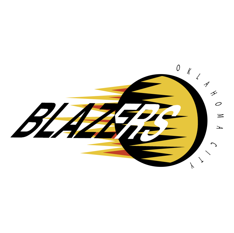 Oklahoma City Blazers vector