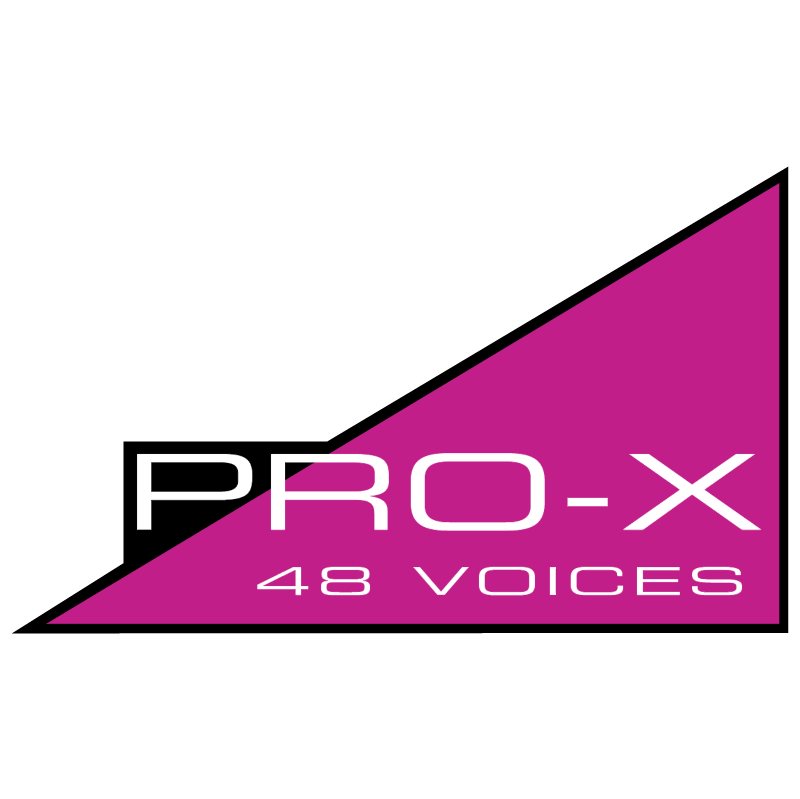 Pro X vector logo