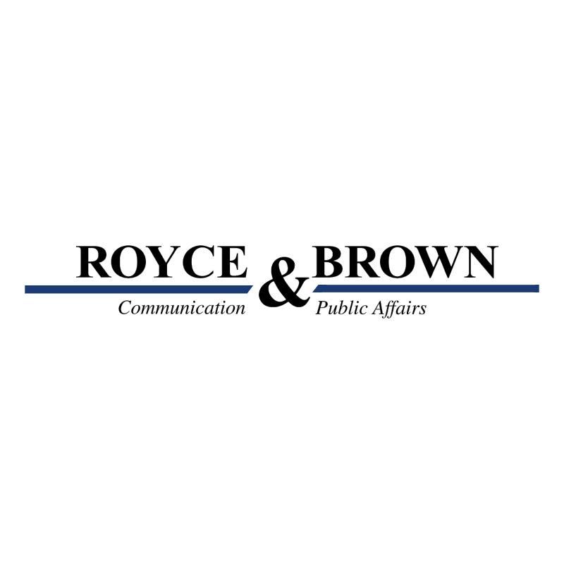 Royce & Brown S r l vector