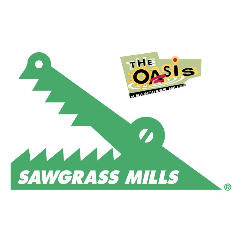 Sawgrass Mills vector