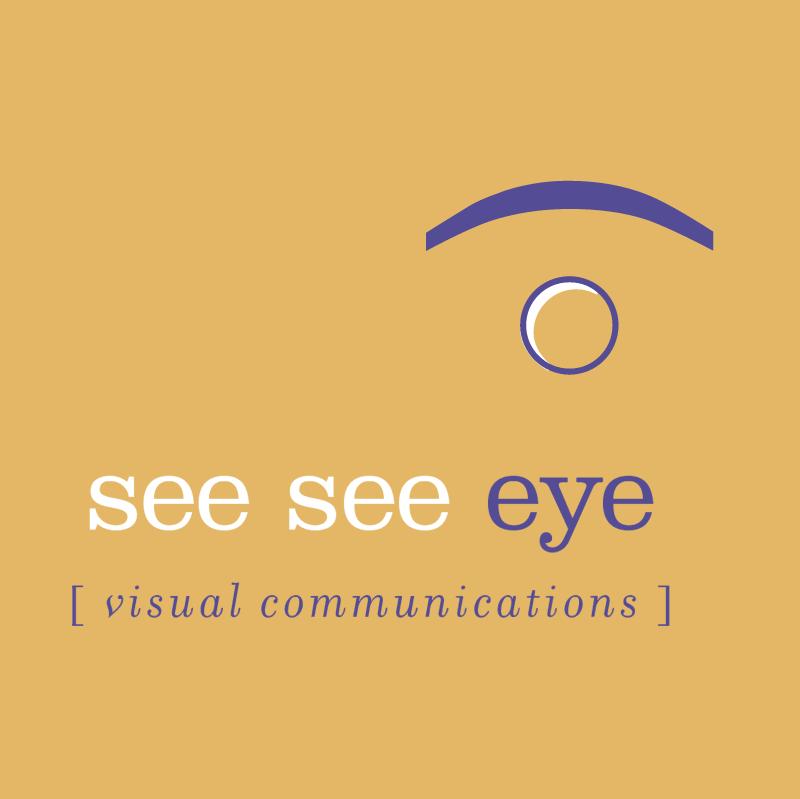 see see eye vector