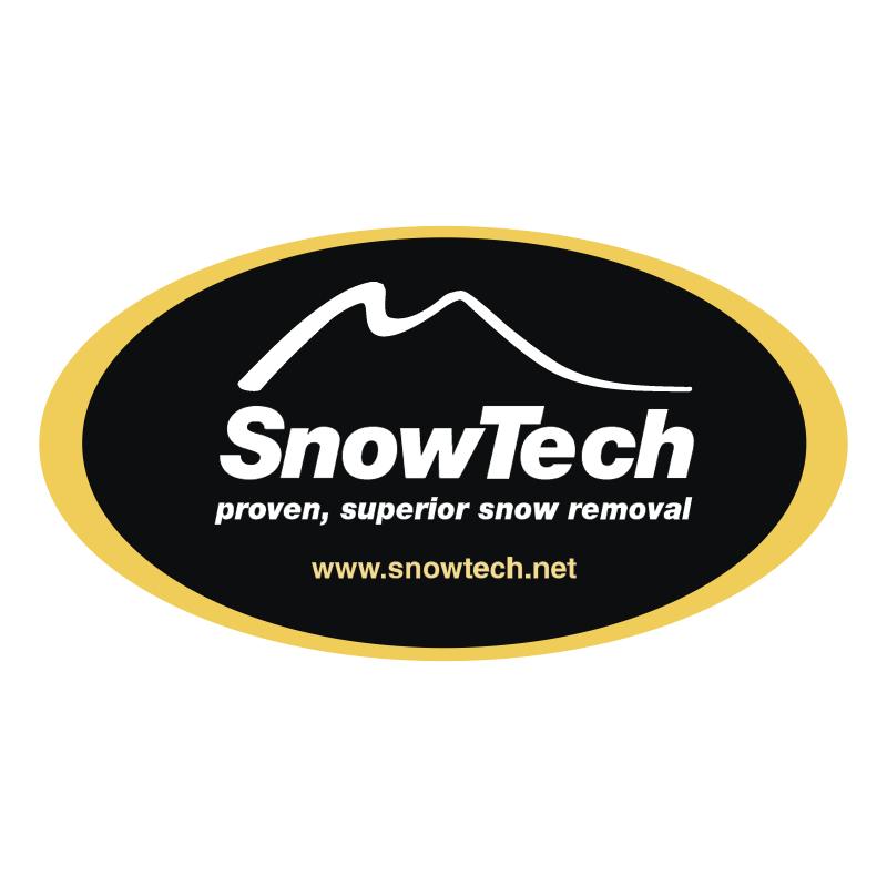 SnowTech vector logo