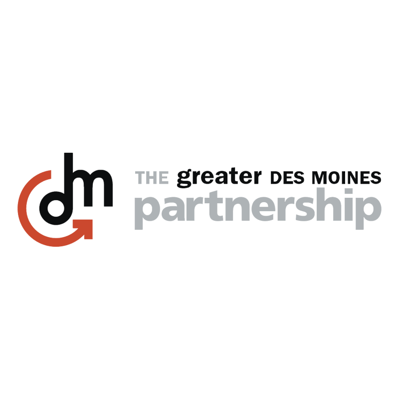 The Greater Des Moines PartnerShip vector logo