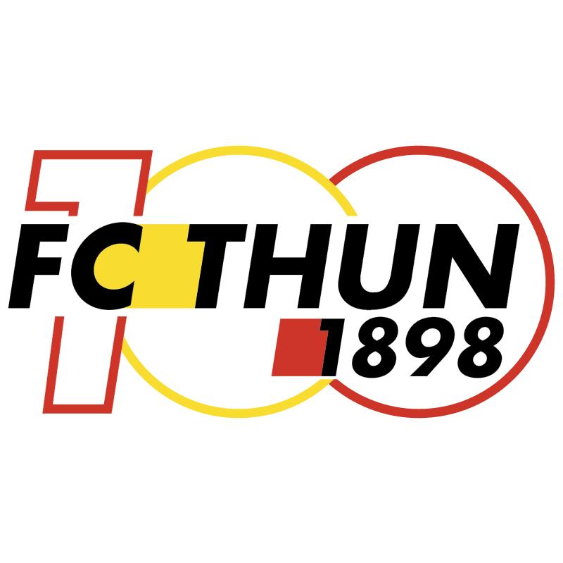 Thun 100 years vector