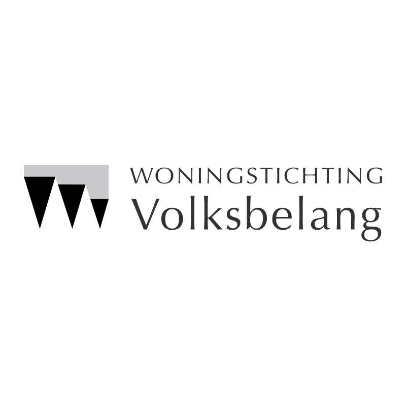 Woningstichting Volksbelang vector