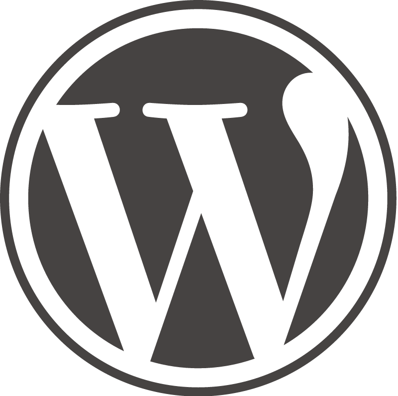 WordPress icon vector