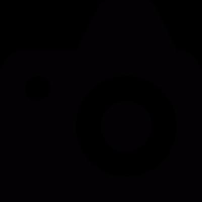 Reflex camera vector logo
