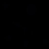 Judo fighter vector