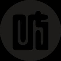 Japan symbol in a circle vector