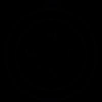 Round Compass vector