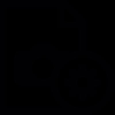 Image document settings vector logo