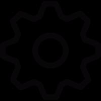 Settings tool vector