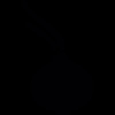 Onion bulb vector logo