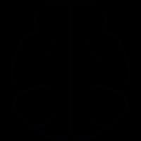 Brain shape, IOS 7 symbol vector