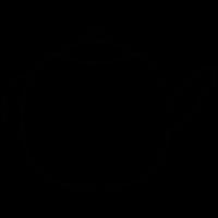 Tea pot, IOS 7 symbol vector