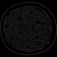 Spaghetti Bolognese vector