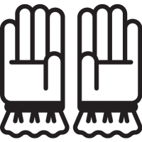 Two Gloves vector