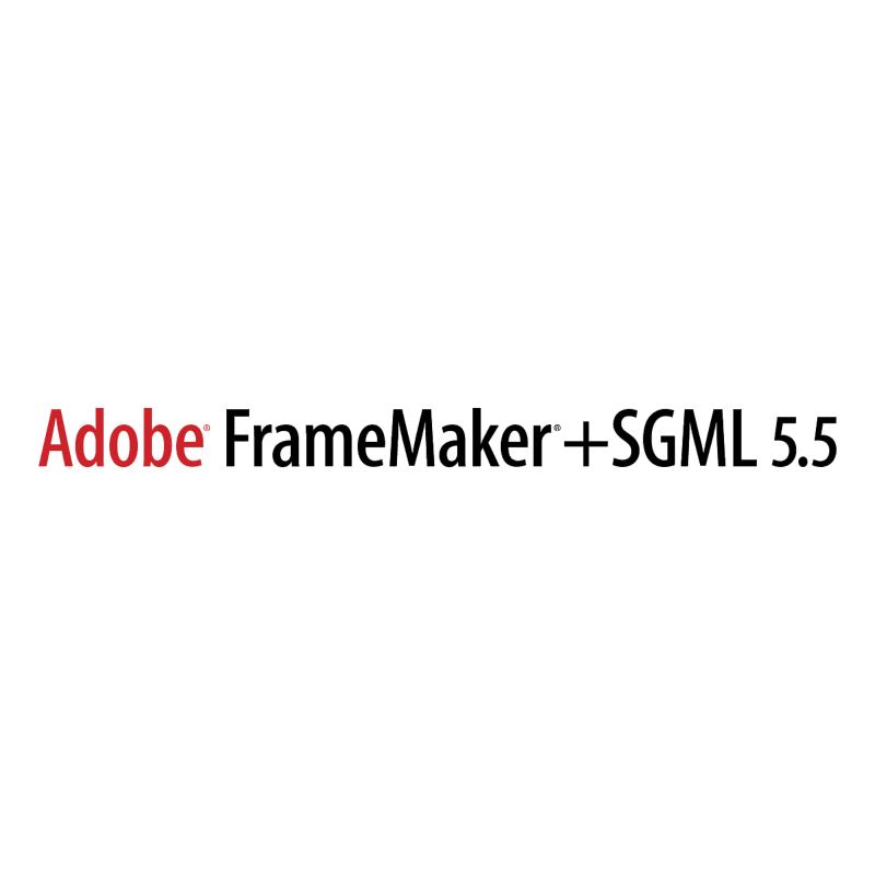 Adobe FrameMaker+SGML vector