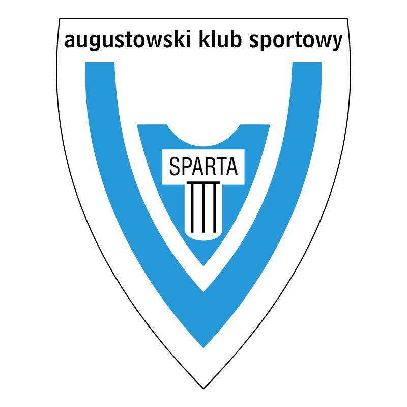 Augustowski Klub Sportowy Sparta vector