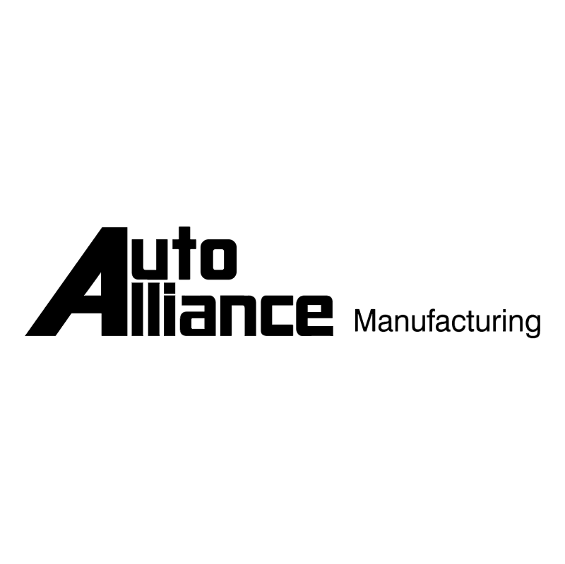 Auto Alliance Manufacturing vector