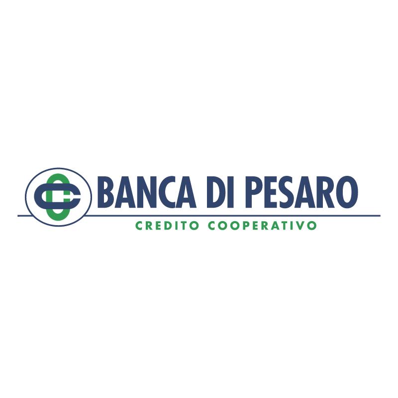 Banca Di Pesaro vector