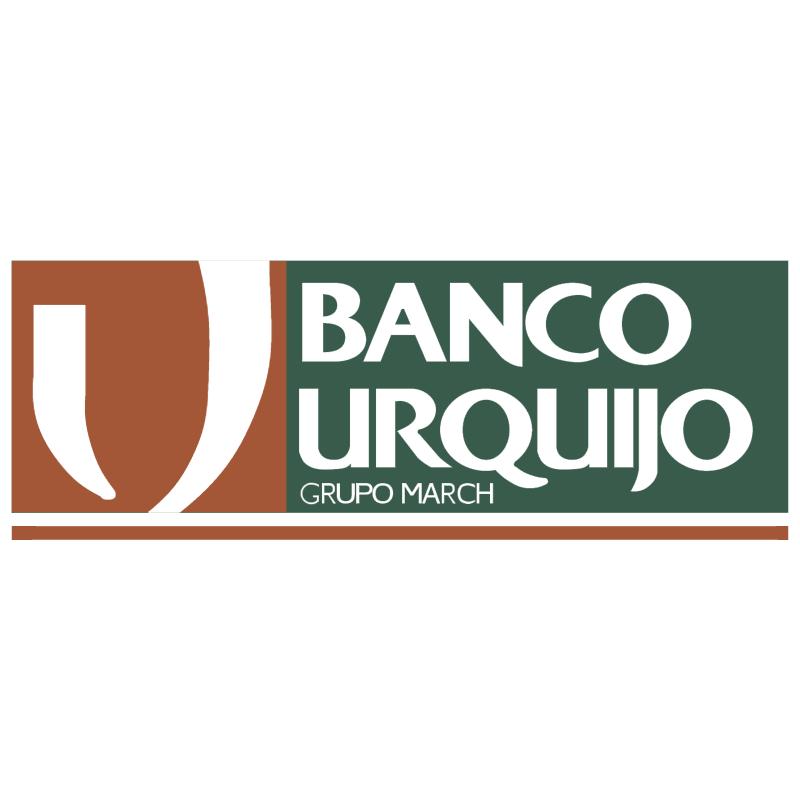 Banco Urquijo vector