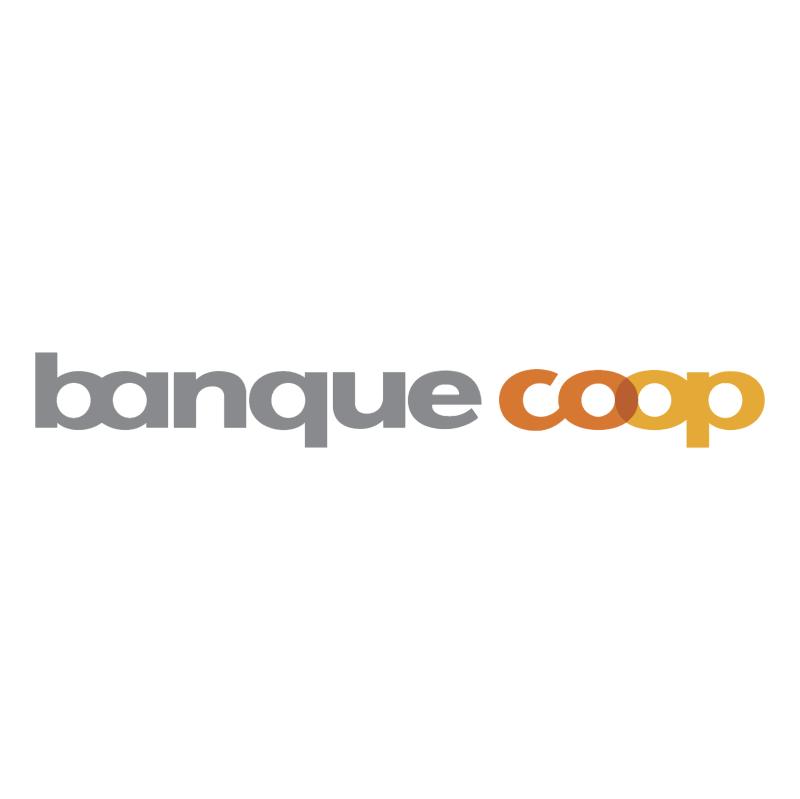 Banque Coop vector