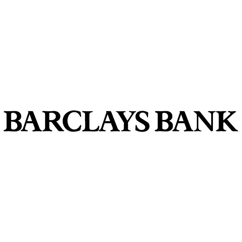 Barclays Bank vector