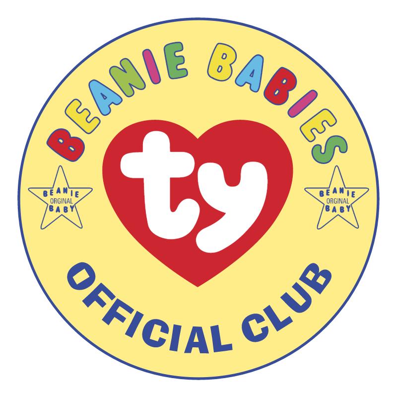 Beanie Babies vector logo