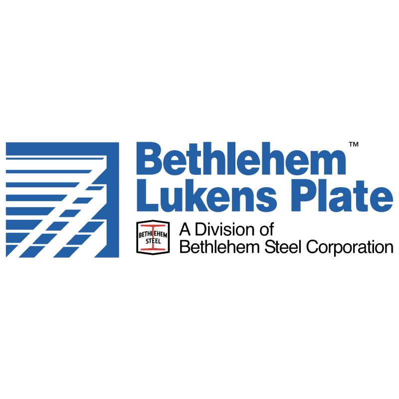 Bethlehem Lukens Plate 10883 vector