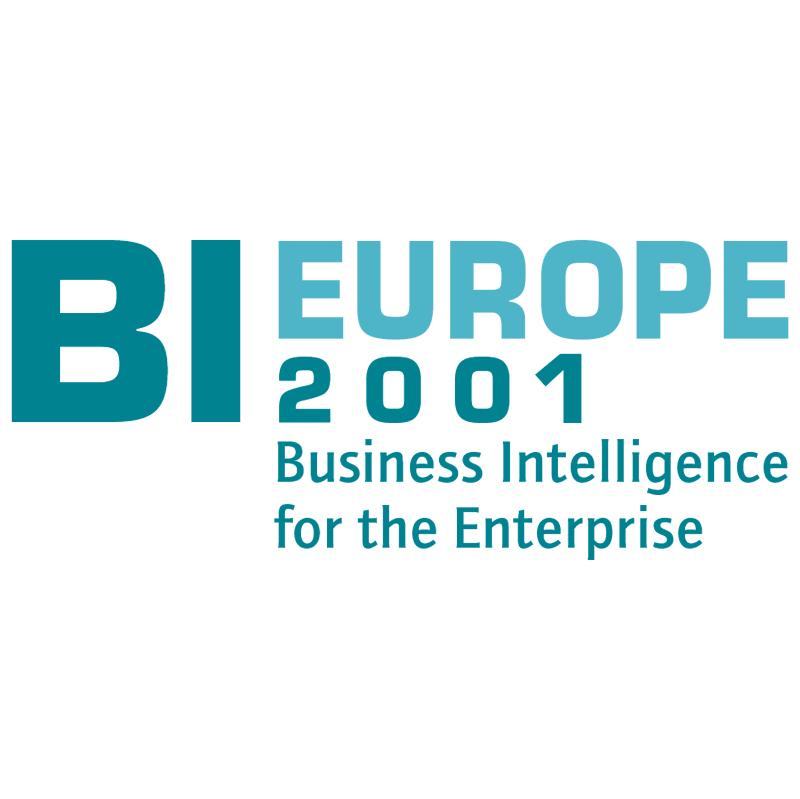 BI Europe 2001 17588 vector