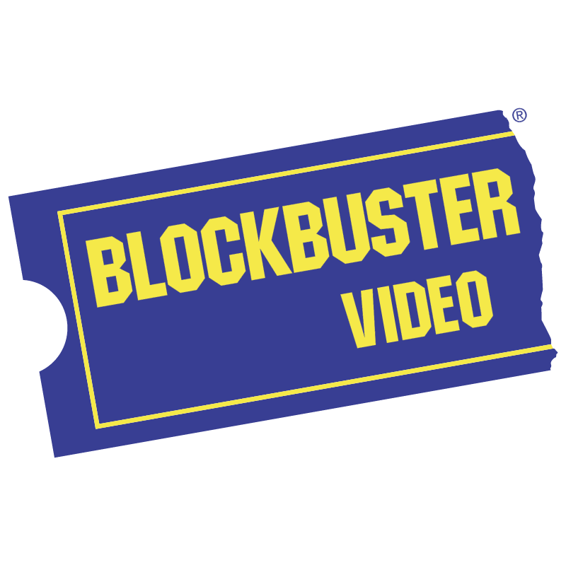 Blockbuster Video vector logo