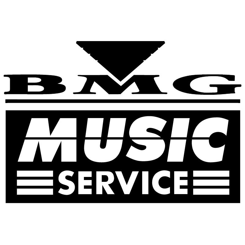 BMG Music Service vector
