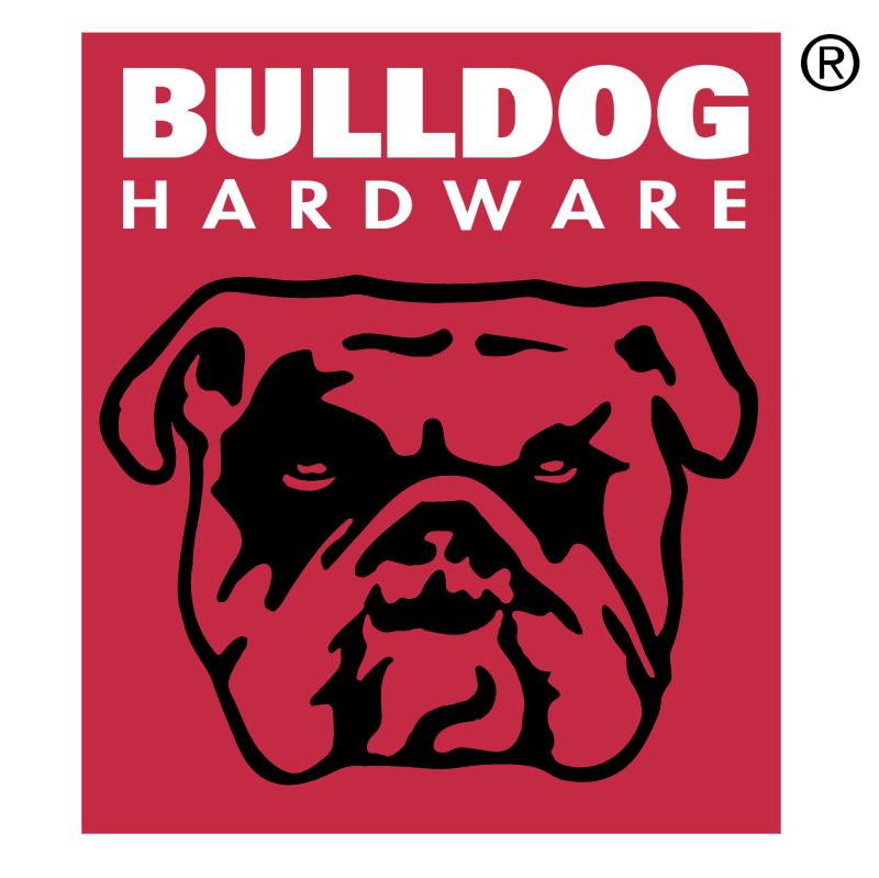 Bulldog Hardware vector logo