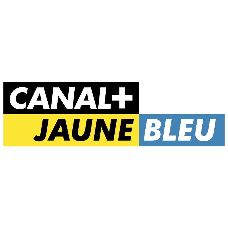 Canal+ Jaune Bleu vector