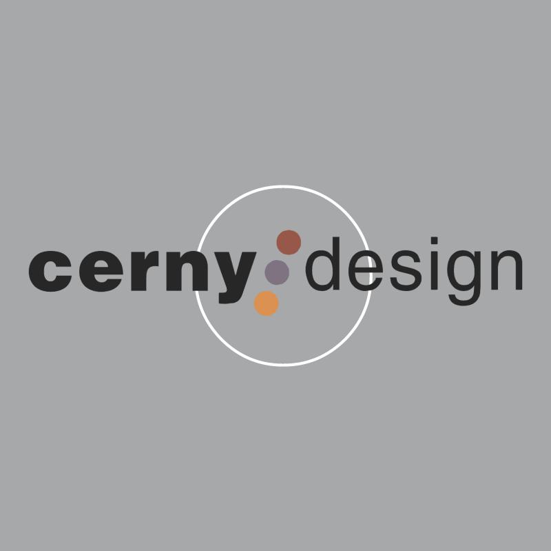 Cerny Design vector logo