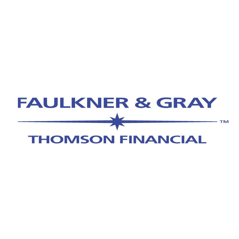 Faulkner & Gray vector