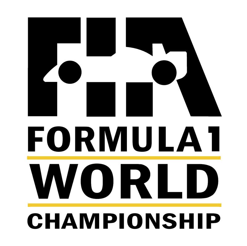 FIA Formula 1 World Championship vector