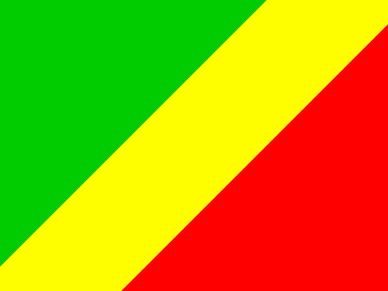 Flag of Congo vector logo