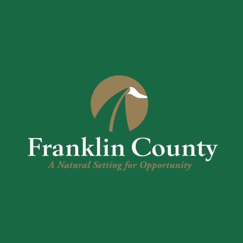 Franklin County vector logo
