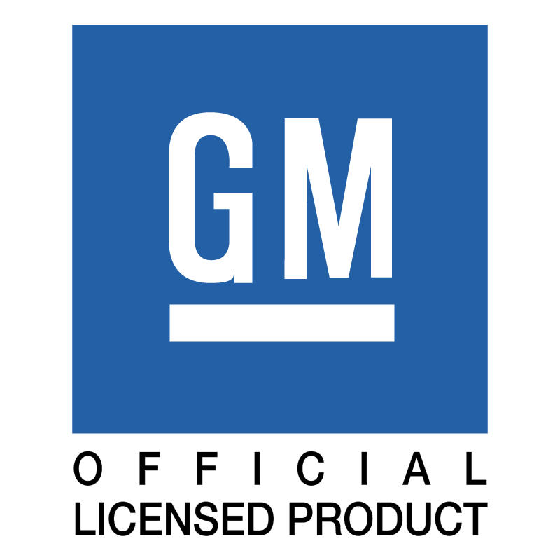 GM Official Licensed Product vector