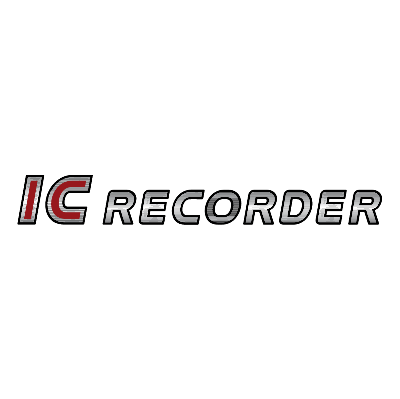 IC Recorder vector logo