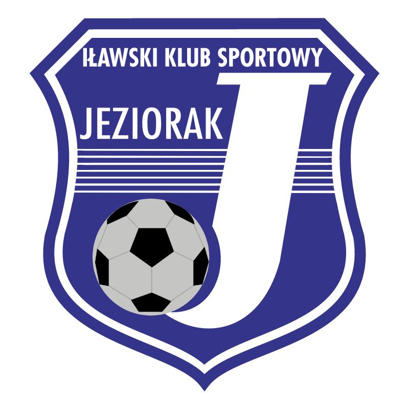 Ilawski Klub Sportowy Jeziorak vector