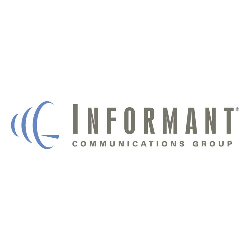 Informant Communications Group vector logo