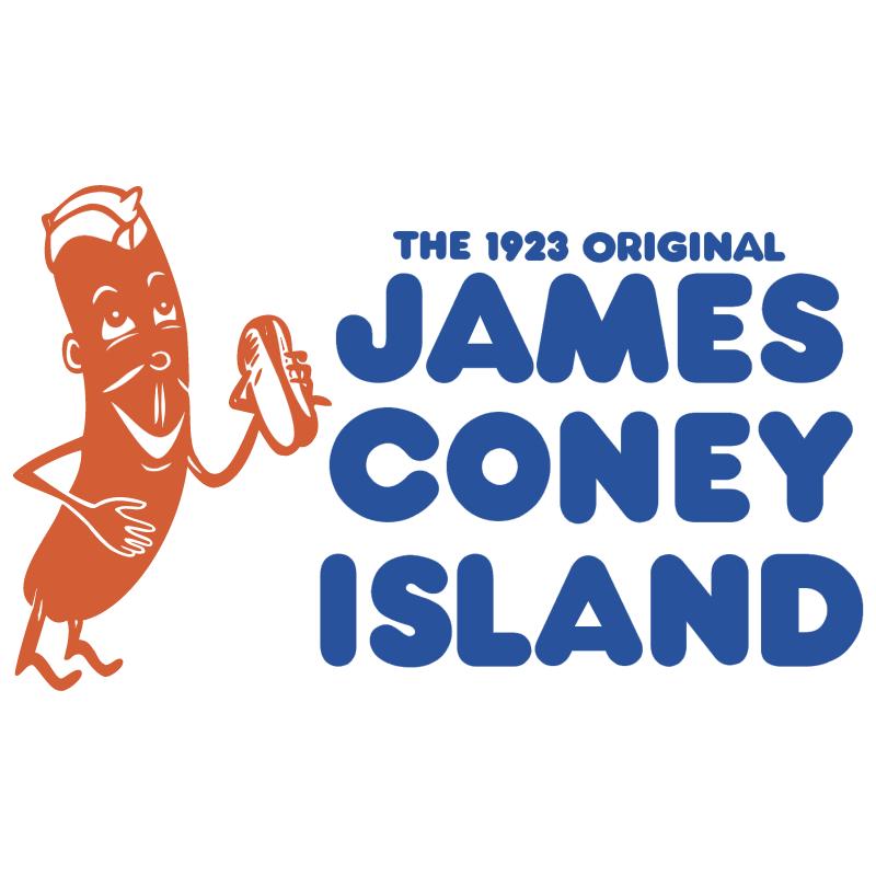 James Coney Island vector