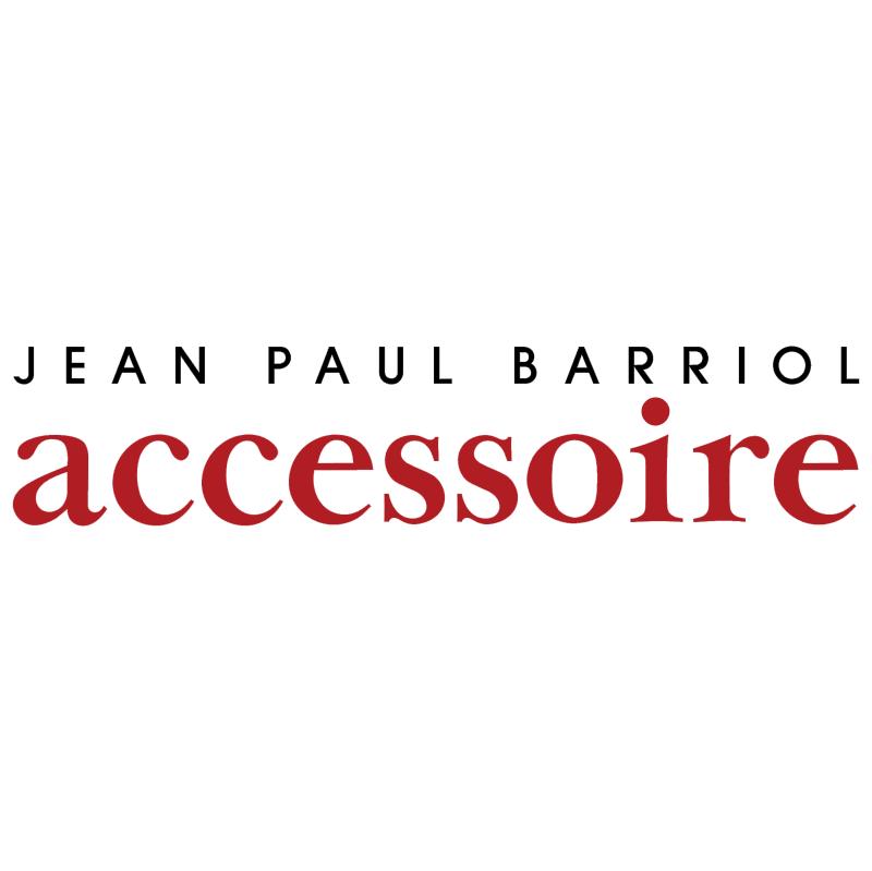 Jean Paul Barriol Accessoire vector